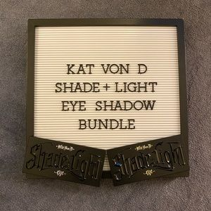 Kat Von D - Shade + Light Eye Palette Bundle